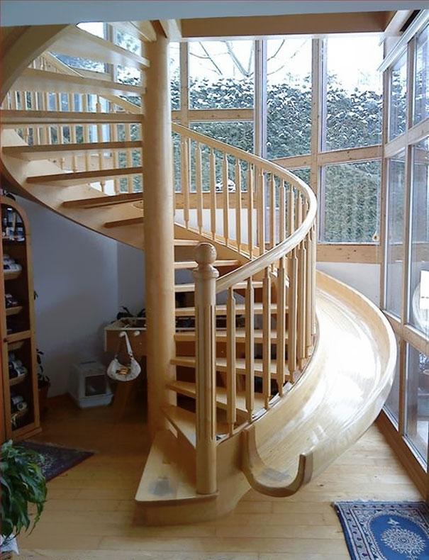 Rhodec-wooden-stair-slide