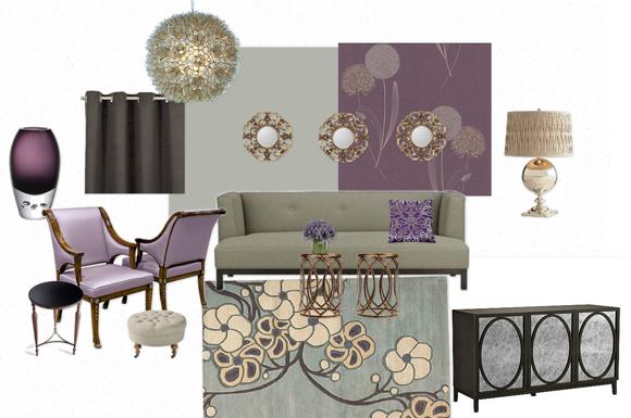 mood board interior design