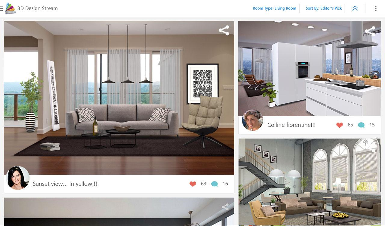 Autodesk homestyler interior design app design within for Interior design online app